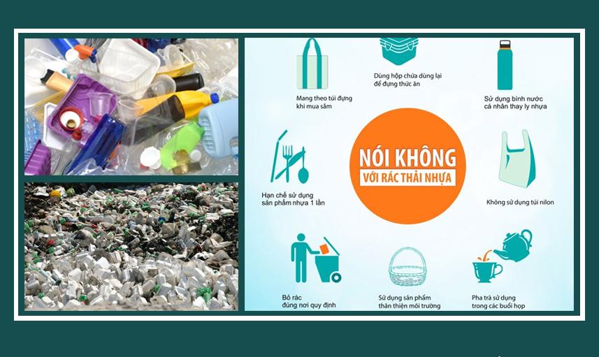 Nói không với rác thải nhựa, xốp