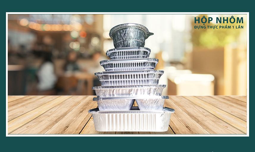 Hộp giấy bạc đảm bảo dinh dưỡng và mùi vị món ăn
