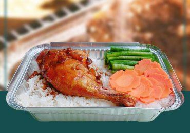 Khay giấy bạc đựng thức ăn FTC giúp giữ ấm tốt cho món ăn giữa mùa đông Hà Nội