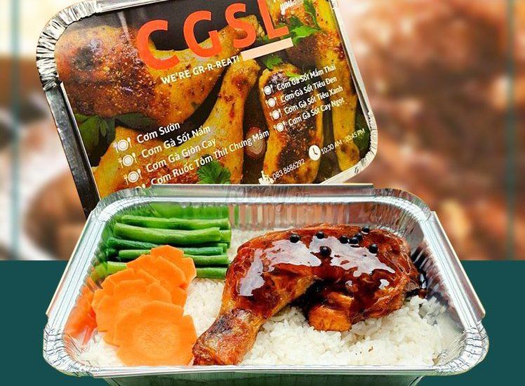 Tạo dựng thương hiệu nhà hàng quán ăn bằng hộp nhôm khay giấy bạc đựng thực phẩm