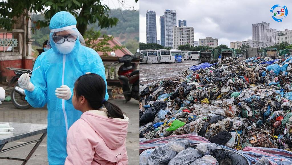 Cuộc chiến chống dịch và cuộc chiến chống rác thải